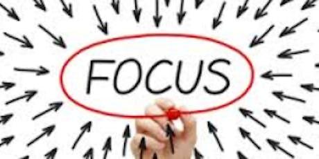 WORKSHOP FOCUS : Améliorer sa concentration & apprendre à gérer son temps billets