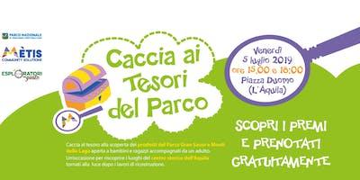 Caccia ai Tesori del Parco - L'Aquila Edition
