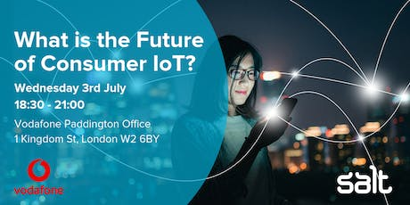 What is the Future of Consumer IoT? tickets