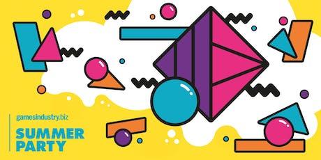 GamesIndustry.biz Summer Party 2019 tickets