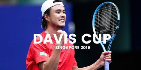 Davis Cup Singapore - 29 June 2019 tickets