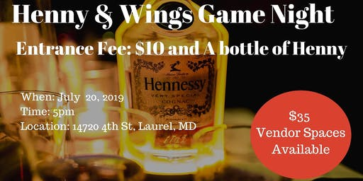 Henny & Wings Game Night