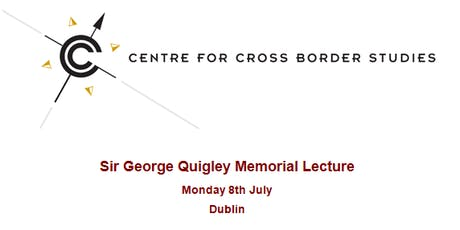 Sir George Quigley Memorial Lecture tickets