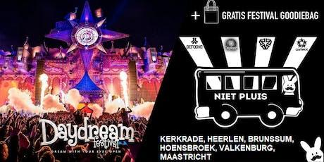 Busreis Daydream festival 13/07 tickets