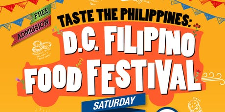 Taste the Philippines: D.C. Filipino Food Festival tickets