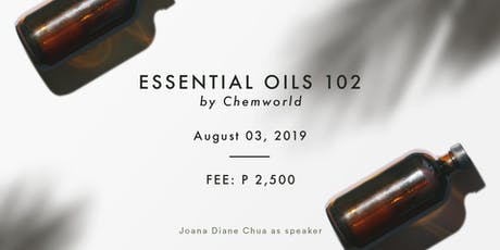 Essential Oils 102 - Make Your Own Diffuser Oil & Lotion (Aug 3) tickets