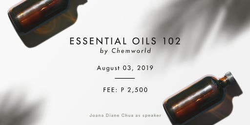 Essential Oils 102 - Make Your Own Diffuser Oil & Lotion (Aug 3)