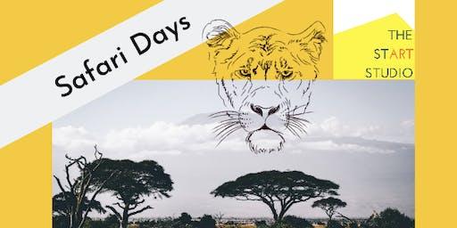 'Safari' Art Camp (All Day)