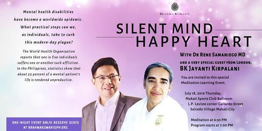 Silent Mind, Happy Heart