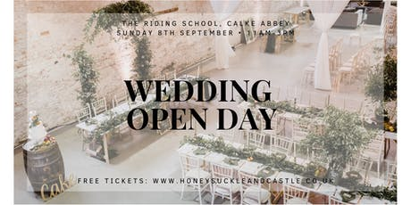 Wedding Open Day at The Riding School, Calke Abbey tickets
