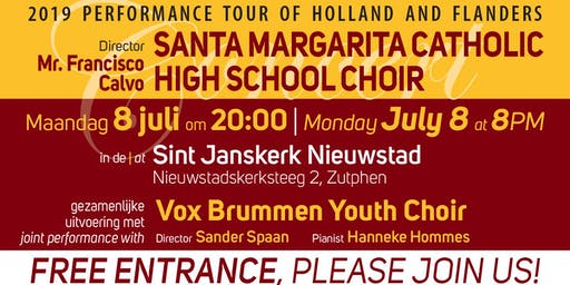 Choral concert in Zutphen! Free entrance.