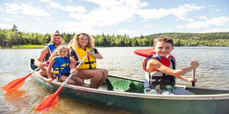 Family Fun Canoeing Activity Package for  2 adults + 2 Children aged 7+   tickets