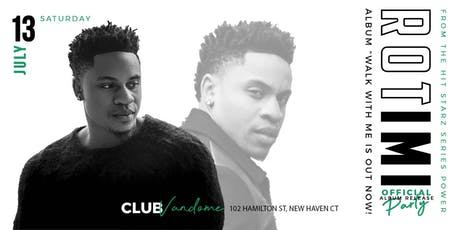 Rotimi Official Album Release Party tickets