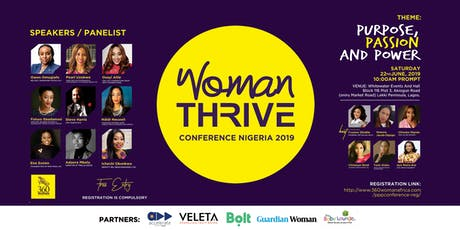 Woman Thrive Conference 3.0 tickets
