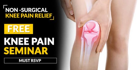 FREE Knee Pain Relief Seminar - Rosemont, IL 6/27 tickets
