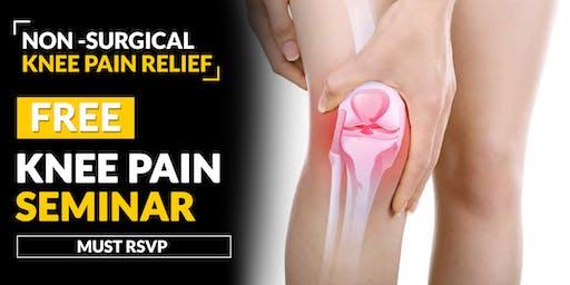 FREE Knee Pain Relief Seminar - Rosemont, IL 6/27