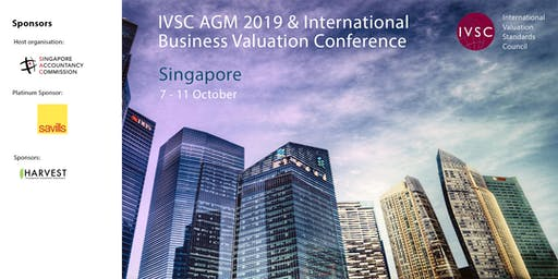 IVSC AGM (followed by IVSC/IVAS Business Valuation Conference 2019)