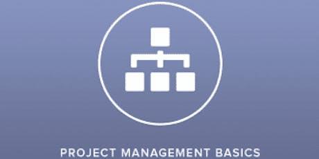 Project Management Basics 2 Days Virtual Live Training tickets