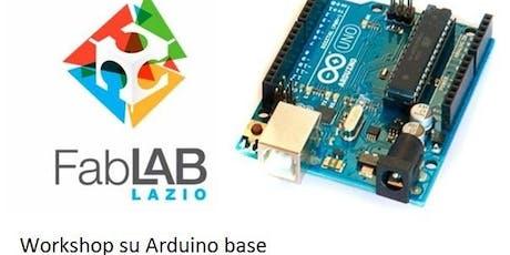 Workshop  Arduino Base - Ferentino biglietti