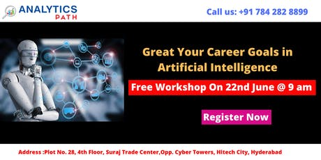 Attend Free Workshop On AI Training By Analytics Path on 22nd June, 9 AM tickets