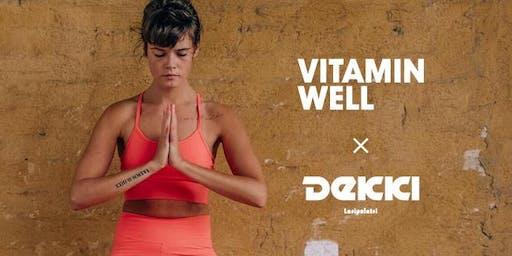 Vitamin Well Yoga goes Dekki