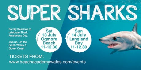 Super Sharks - Ogmore Beach Family Session tickets