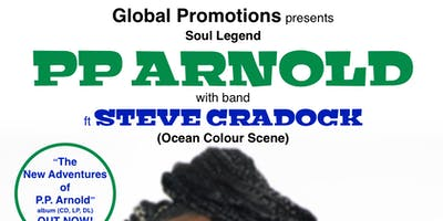 PP ARNOLD w/band featuring Steve Cradock (Ocean Colour Scene )