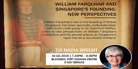 William Farquhar and Singapore's Founding: New Perspectives tickets