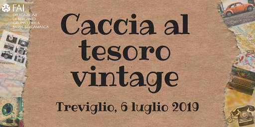 Caccia al tesoro vintage