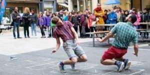 Ondernemersborrel tijdens Mooi Weer Spelen Delft