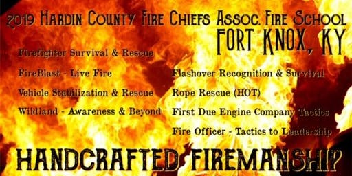 Hardin County Fire Chiefs Association Fire School