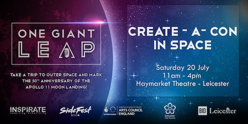 CreateACon in Space!
