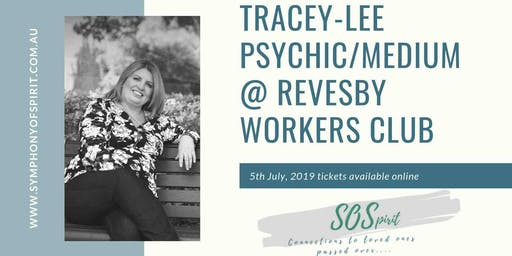 Psychic/Medium Tracey-lee  LIVE @ Revesby Workers Club