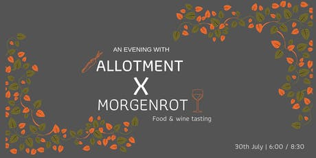 An evening with Allotment & Morgenrot tickets