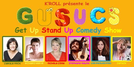 GUSUCS Get Up Stand Up Comedy Show billets
