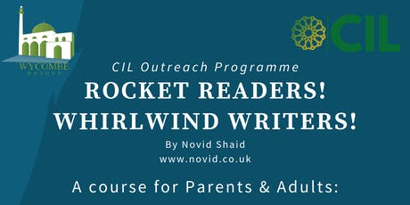 Rocket Readers! Whirlwind Writers! - for Parents & Adults tickets