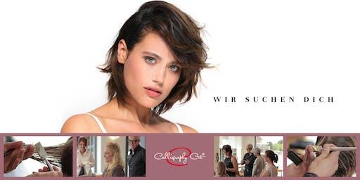 OELDE- Trainer-Haarmodell für ein Calligraphy Cut Silver-Star Seminar gesucht