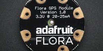 Tutorial wearable electronic platform Flora adafruit - Ferentino