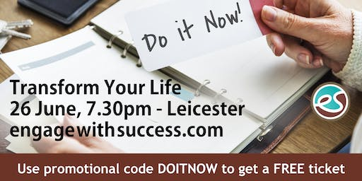 Engage with Success Seminar - Leicester
