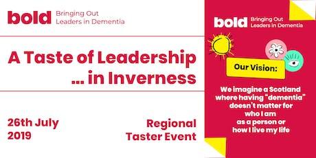 Bold - Taste of Leadership tickets