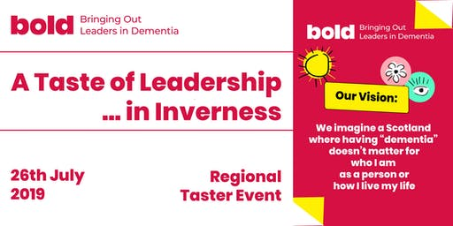 Bold - Taste of Leadership