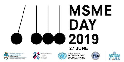 United Nations - Micro- Small and Medium-sized Enterprises Day- June 26/27