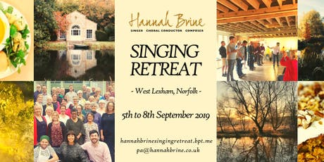 Singing Retreat 2019 with Hannah Brine tickets