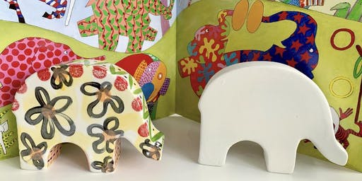 Elmer's Big Parade Workshop at Starglazing Ceramics