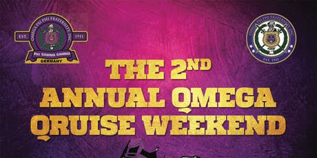 Phi Gamma Gamma Chapter 2nd Annual Qruise Weekend Tickets