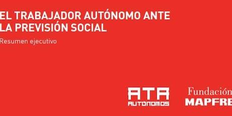 Presentación del informe 'El autónomo ante la previsión social'. Córdoba entradas
