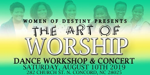 THE ART OF WORSHIP Workshop and Concert