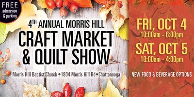 4th Annual Craft Market and Quilt Show