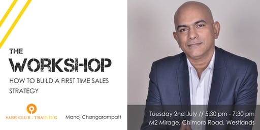 Workshop // How to build a first time sales strategy