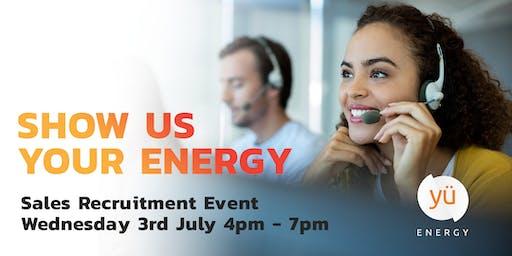Sales Recruitment Event